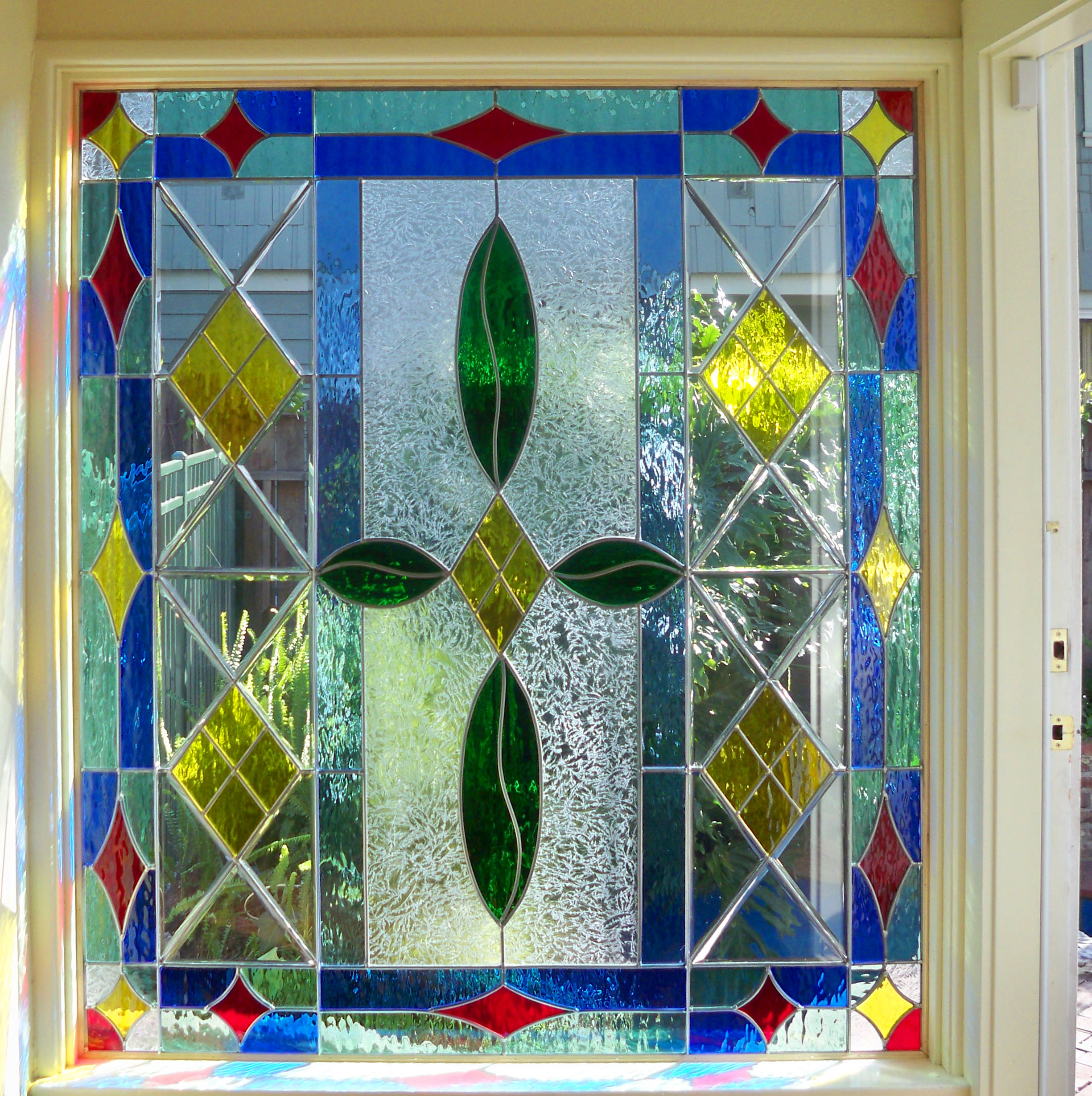 Stained And Beveled Windows Door Glass Picture Windows